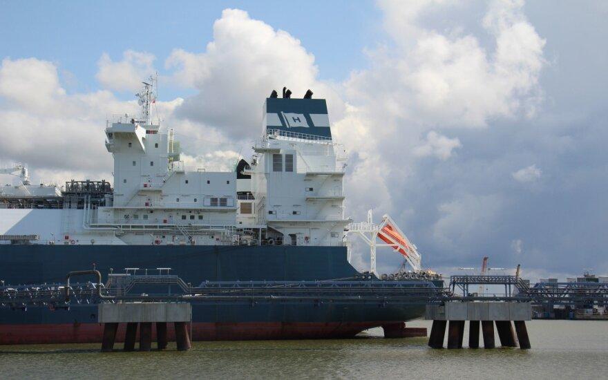 В Клайпедский порт пришел новый груз газа из США