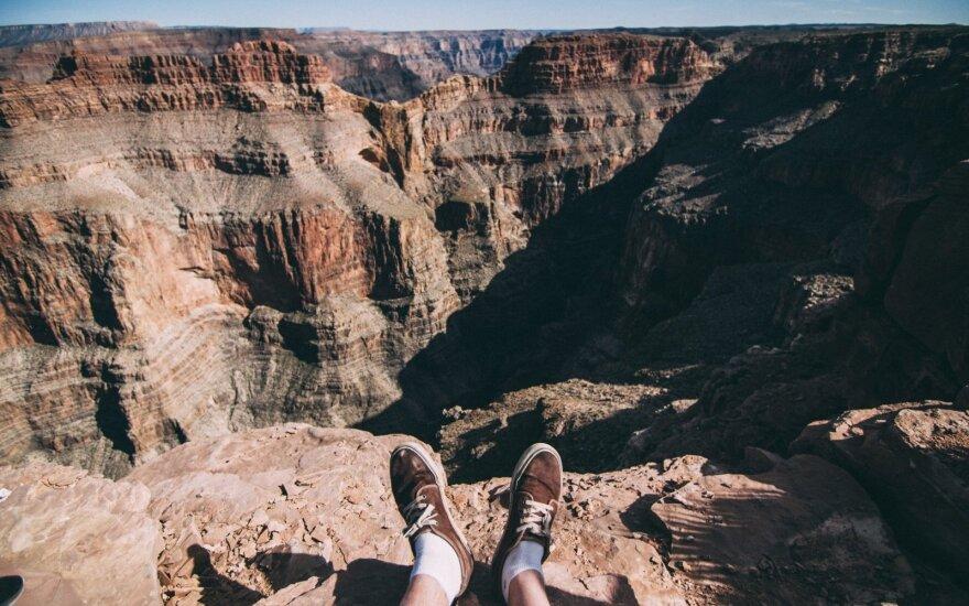 В Большом каньоне разбился туристический вертолет, есть жертвы