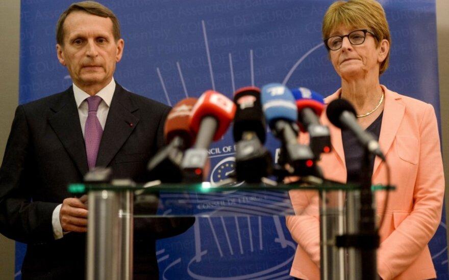 Россия не сможет участвовать в работе ПАСЕ до конца года