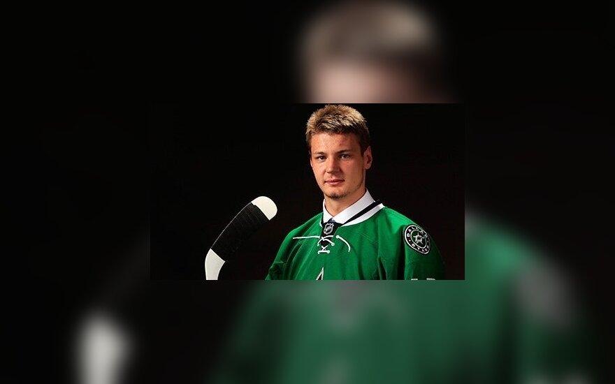 """Первый гол Ничушкина в НХЛ, а потом был нокаут вратаря """"Оттавы"""""""