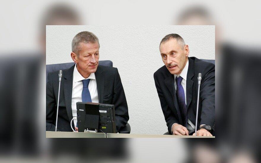 Gediminas Kazlauskas, Algirdas Sekmokas