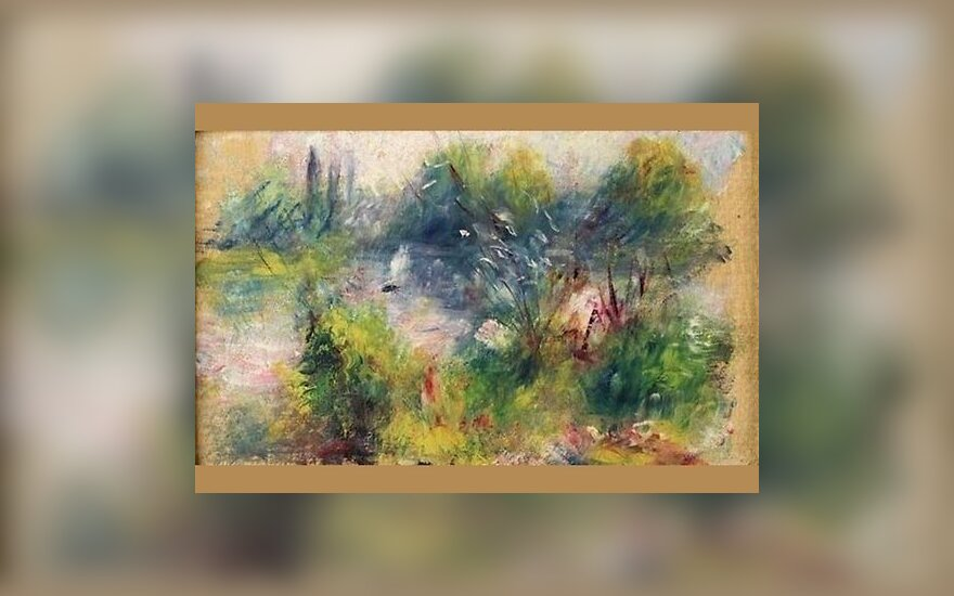 Украденная картина Ренуара вернулась в музей через 63 года