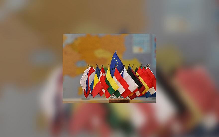Europos Sąjungos šalių narių vėliavos