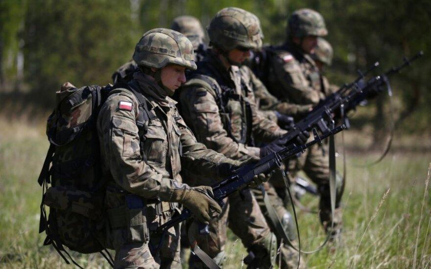 Польша строит вышки на границе с Калининградом