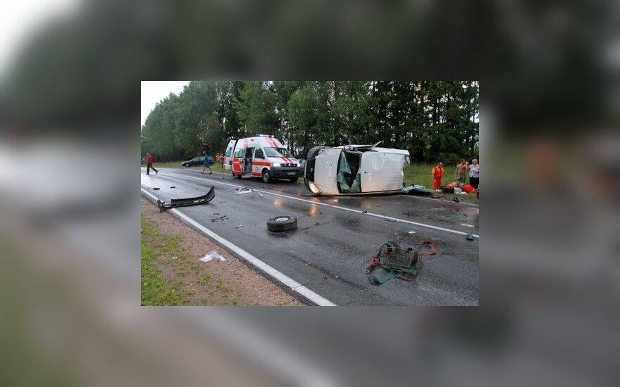 Виновный в аварии житель Шальчининкай скрылся от полиции