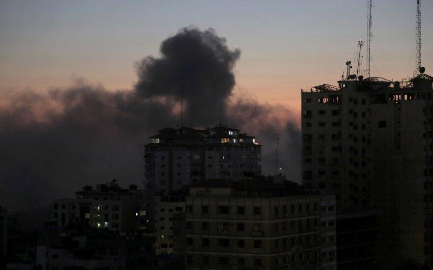 ВВС Израиля нанесли удары по целям джихадистов в секторе Газа и в Сирии