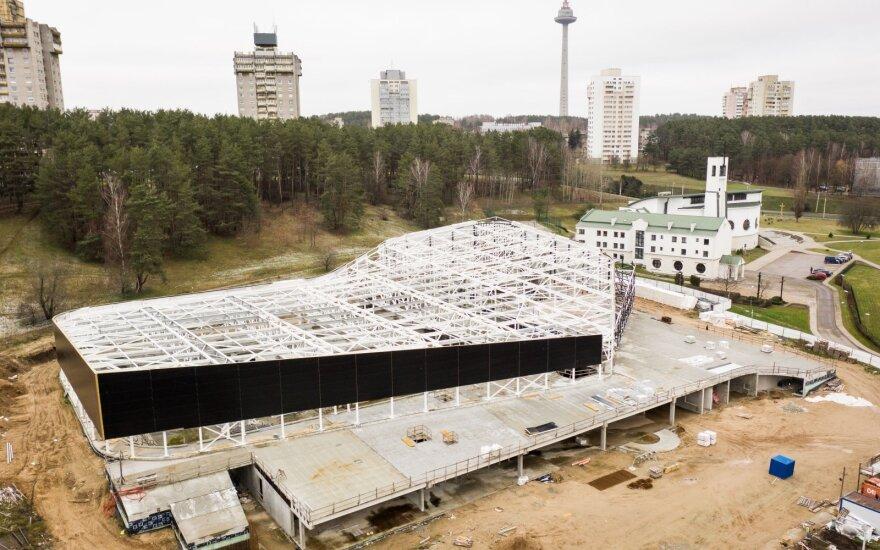 Остановилось строительство Лаздинайского бассейна: мэрия объявит новый конкурс