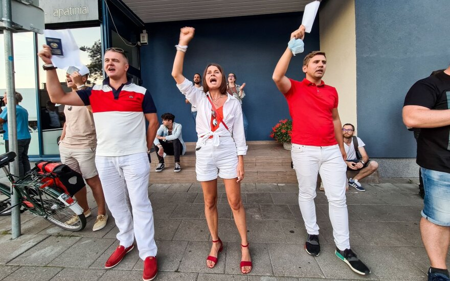 Экзит-пол: в Литве Лукашенко набрал всего 6.78%