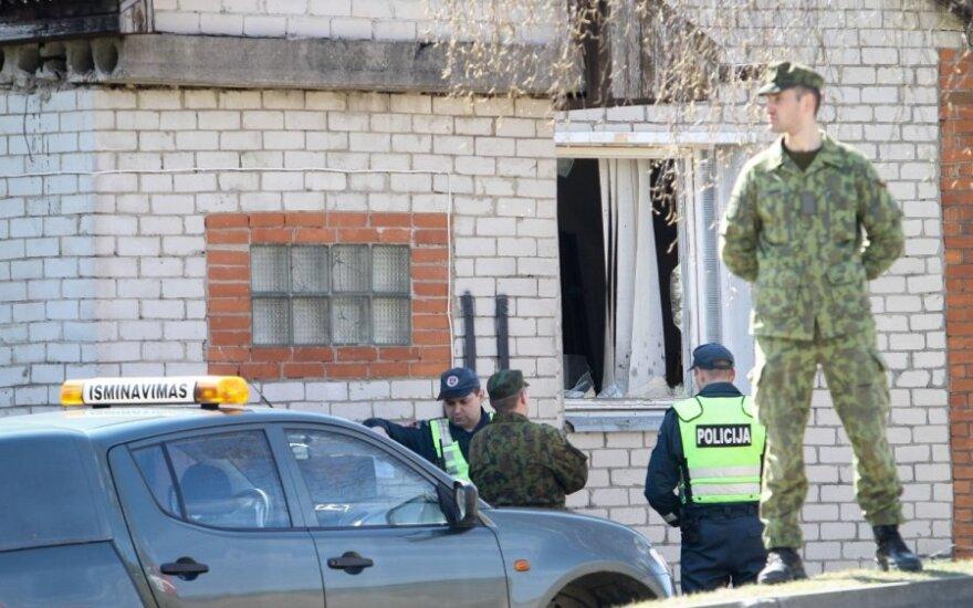 В Литве на территории воинской части произошел взрыв, один человек погиб