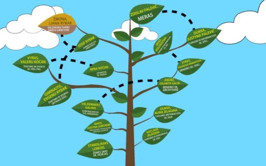 Drzewo genealogiczne solecznickiego samorządu