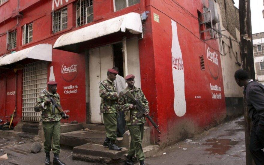Nairobio diskotekoje per granatos sprogimą sužeista 14 žmonių