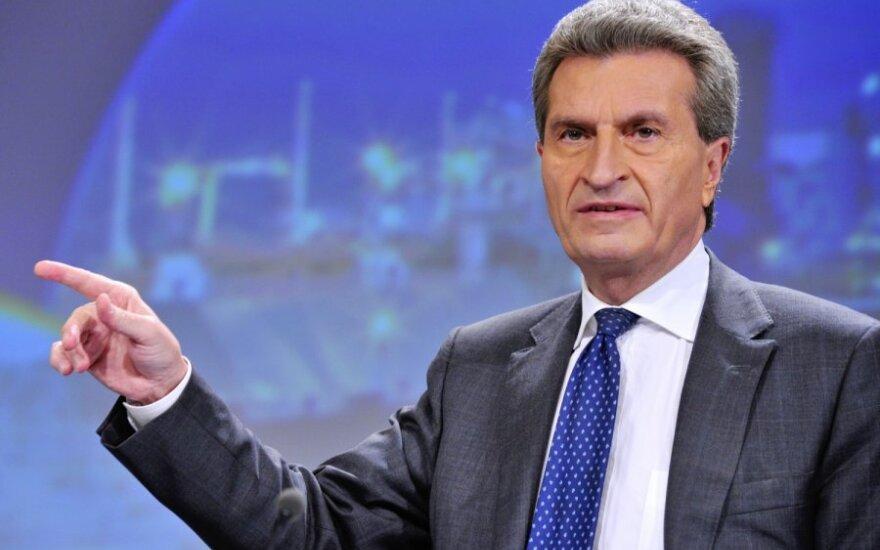 Комиссар: интеграция стран Балтии в энергетический рынок ЕС - приоритет Еврокомиссии