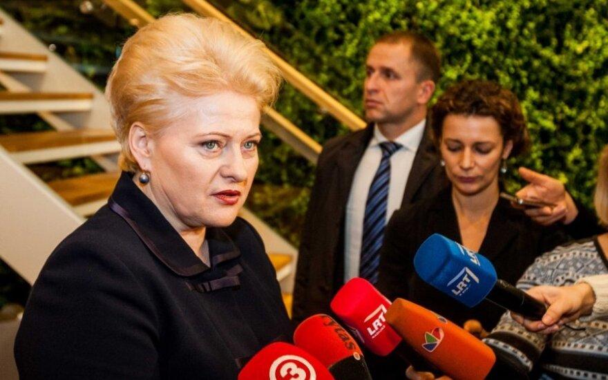 Глава Литвы предлагает запретить заочно обязывать журналиста раскрыть источник информации