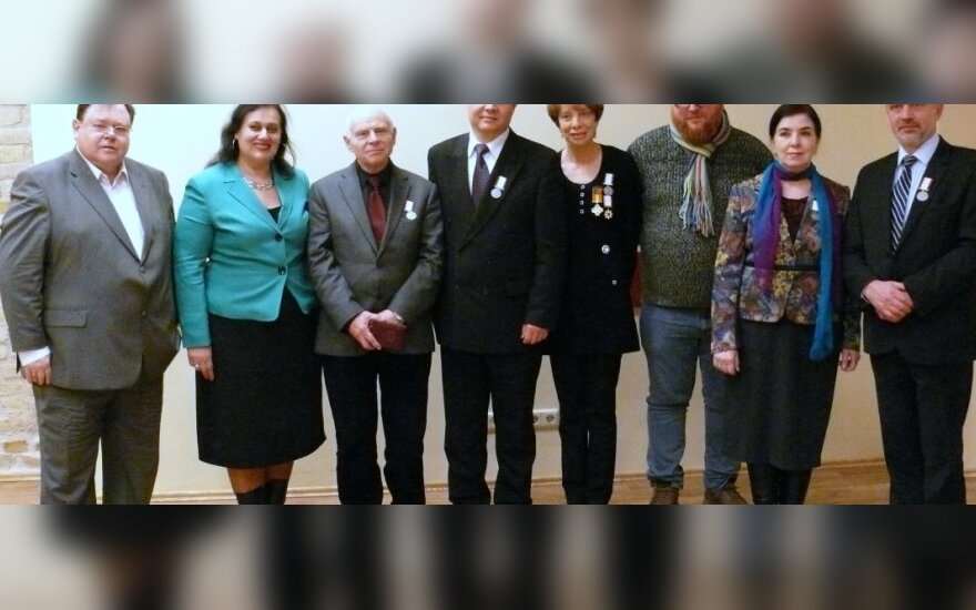 Видным представителям нацобщин Литвы вручены почетные награды