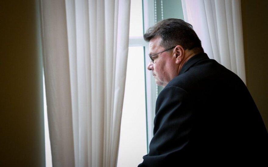 Вернувшийся из Украины Линкявичюс: президент не будет вести переговоры с бандитами