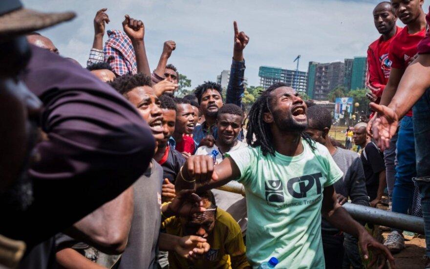 Neramumai Etiopijoje pareikalavo 44 gyvybių