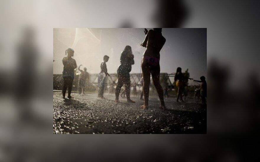 Испанию накрыла небывалая жара