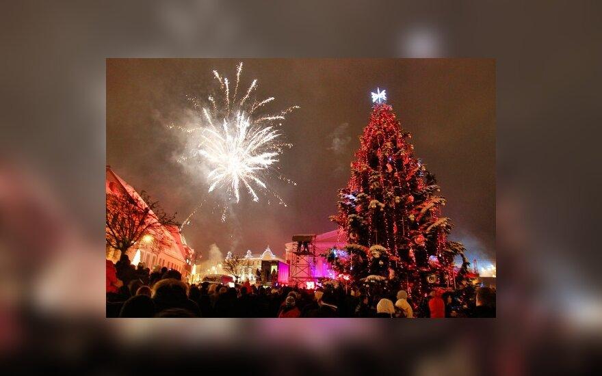Литва вступила в Новый год