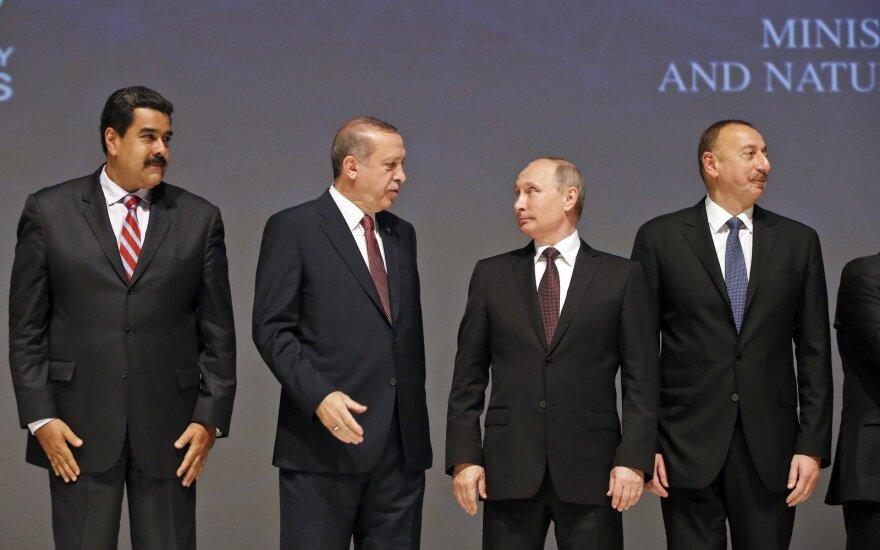 Nicolas Maduro, Recepas Tayyipas Erdoganas, Vladimiras Putinas, Ilhamas Alijevas