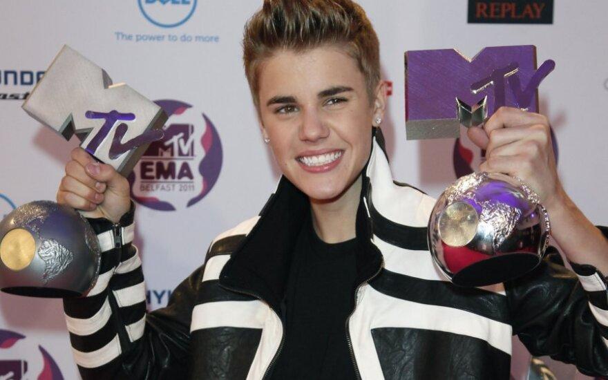 Justin Bieber nie chce złotego sedesu