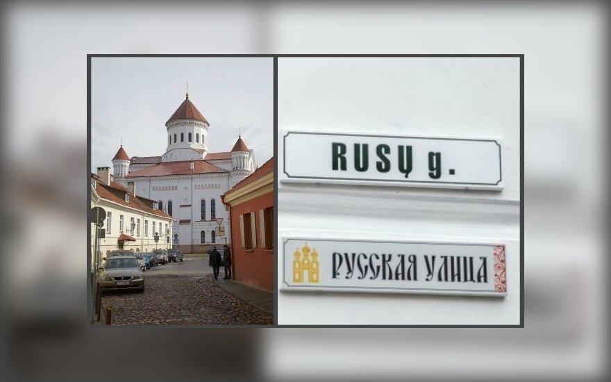 Представитель правительства Литвы обратилась в суд по поводу табличек на двух языках