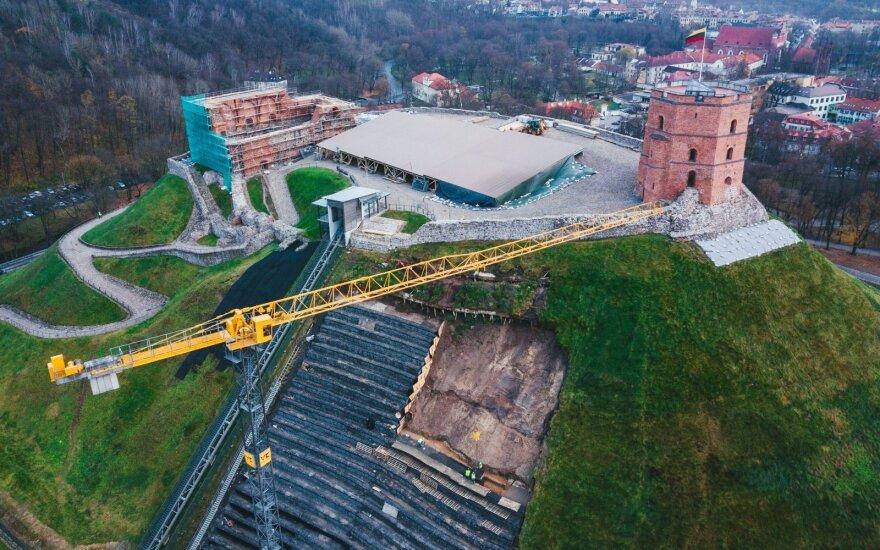 Премьер Литвы: на восстановление горы Гедиминаса средства ЕС не нужны
