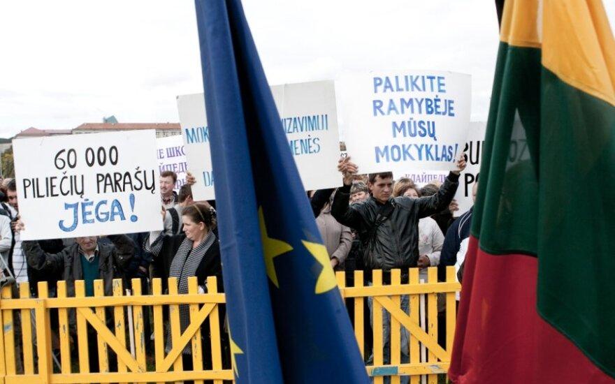 Министр отозвал льготы экзамена по госязыку для нацменьшинств Литвы