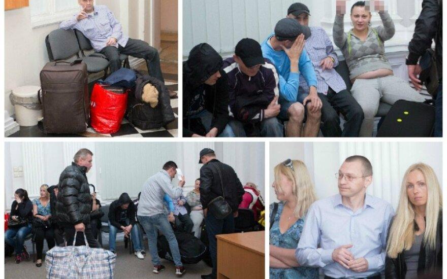 В деле Вильнюсской наркомафии – необычные кадры