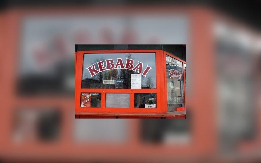Kebabų kioskas