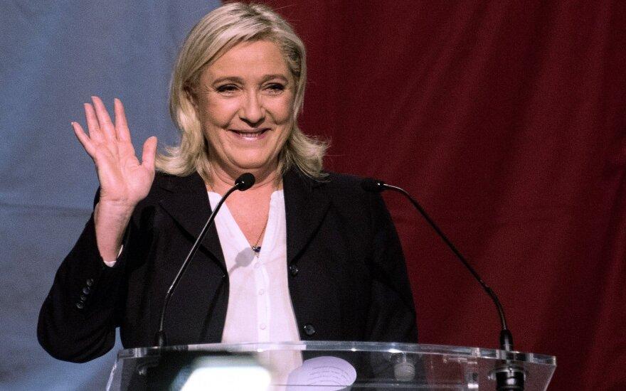 Marine Le Pen partija Nacionalinis frontas
