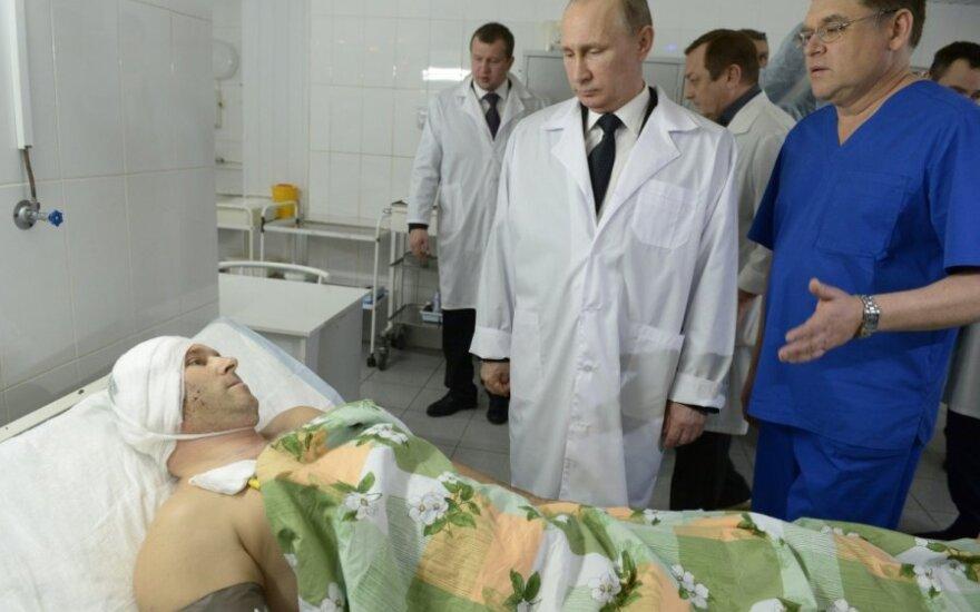 V. Putinas lankėsi Volgograde