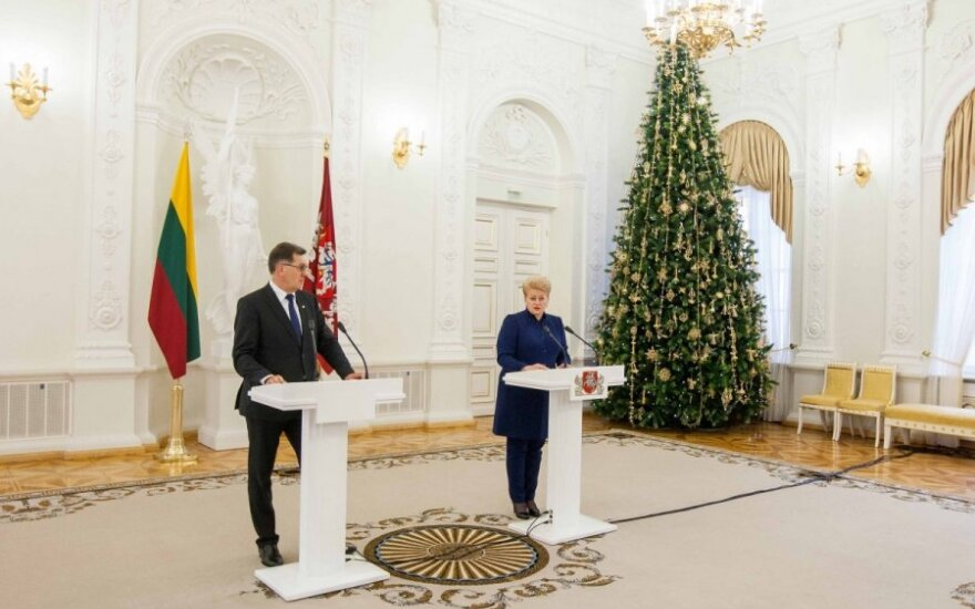Как встретят Рождество первые лица Литвы