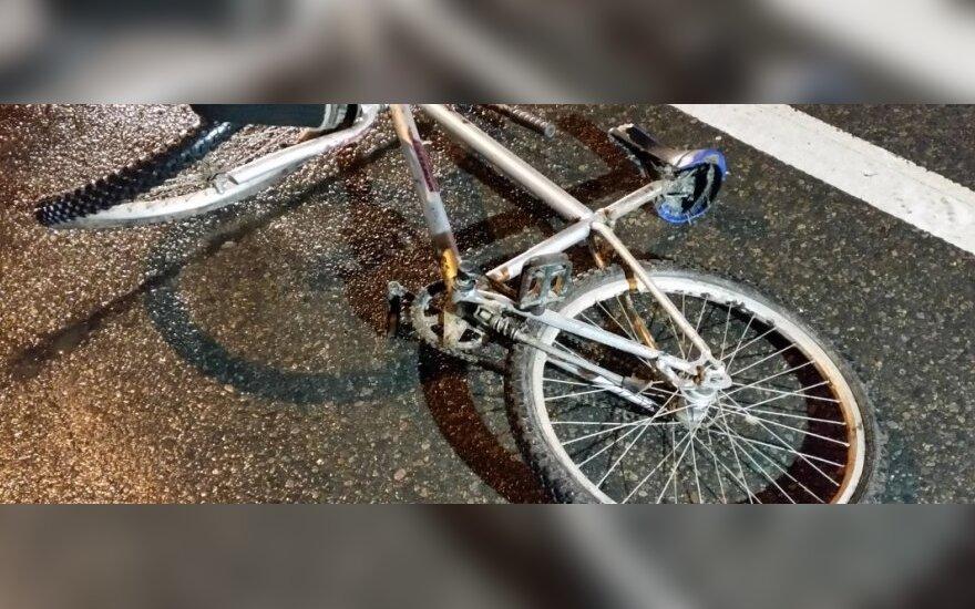На дороге погибла велосипедистка