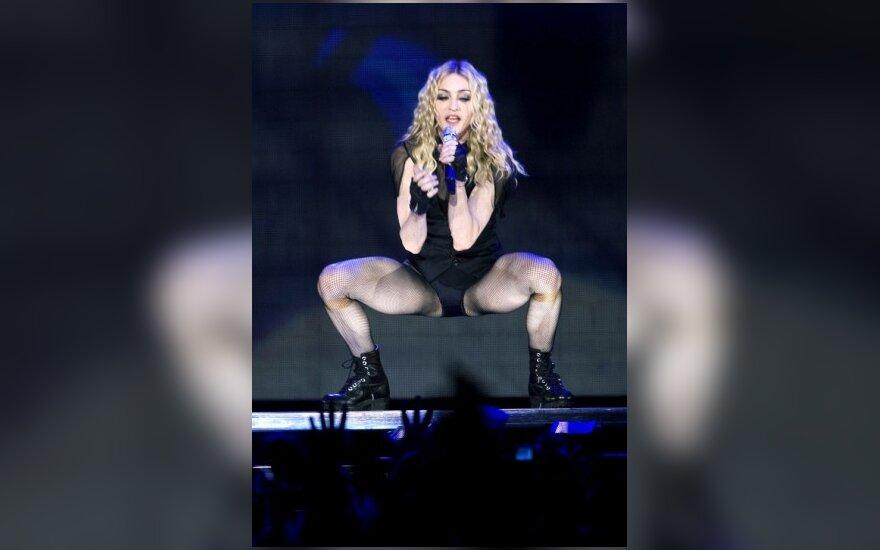 Štai taip scenoje atrodo 50-metė Madonna