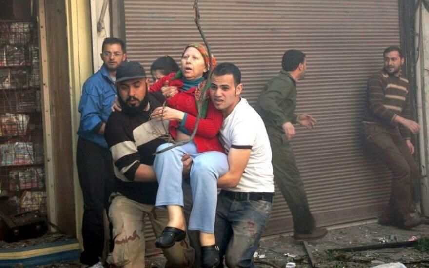 Sirija: Homso mieste įvyko du sprogimai