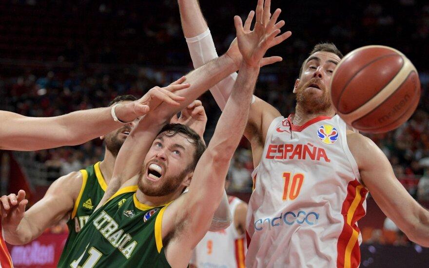 Pasaulio čempionato pusfinalis: Ispanija – Australija