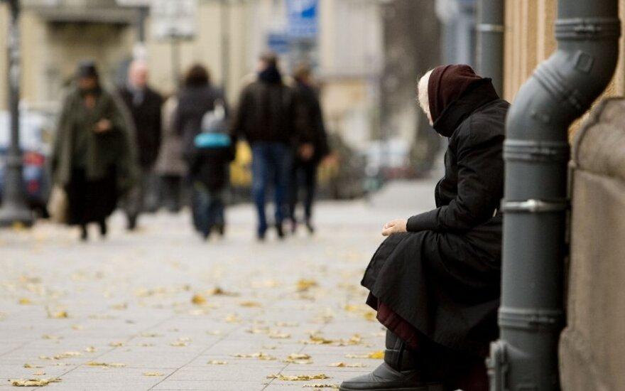 390 000 жителей Литвы живут в нищете