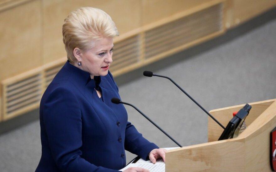 Президент Литвы: война и оккупация – это уже не исторические термины