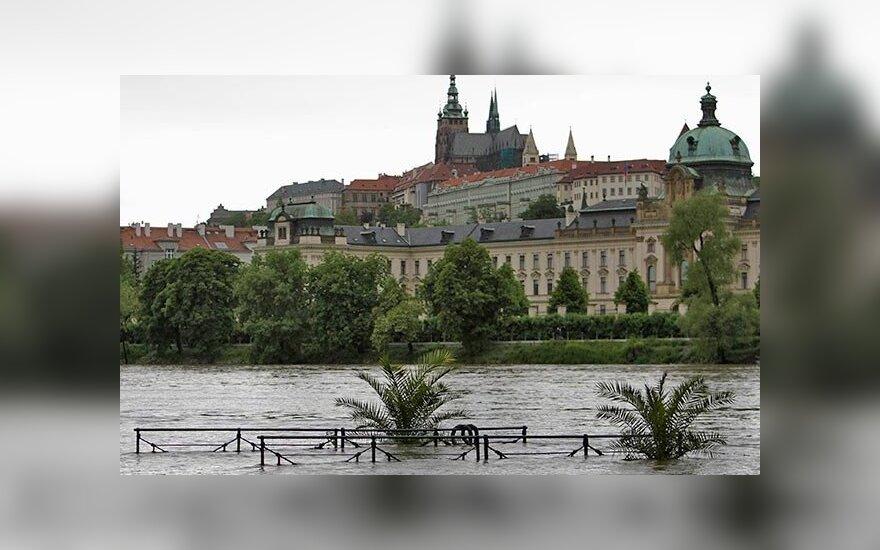 Столицу Чехии Прагу начинает затапливать, есть жертвы