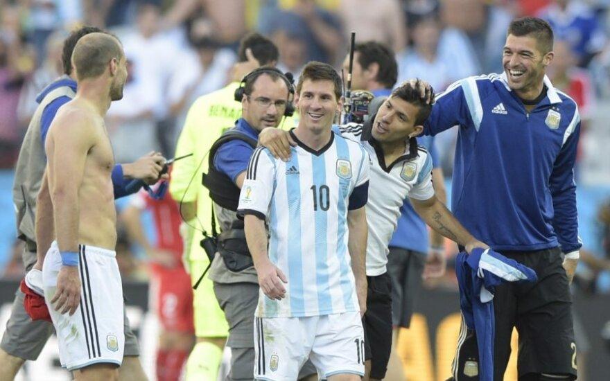 Аргентина сломила сопротивление Швейцарии на 118-й минуте