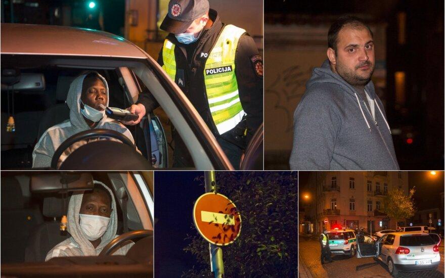 Ночной рейд в Вильнюсе: пьяные иностранцы и любители скорости