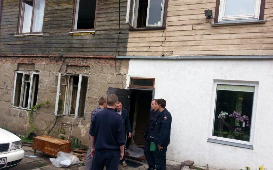 В субботу в Каунасе во время пожара погиб мужчина