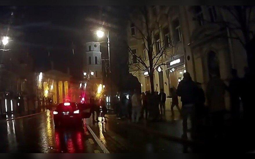 Драка в Старом городе: подрались литовцы с иностранцами?