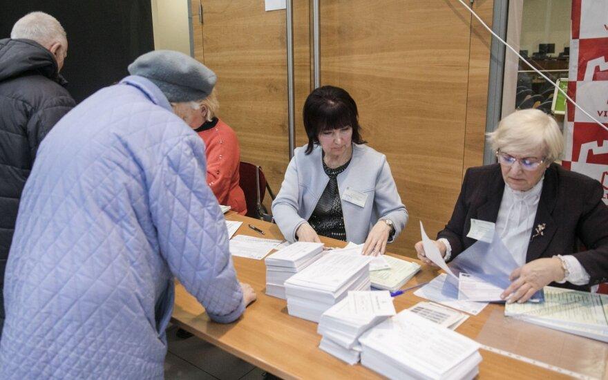 На выборах муниципальных советов и мэров в Литве можно голосовать и на дому