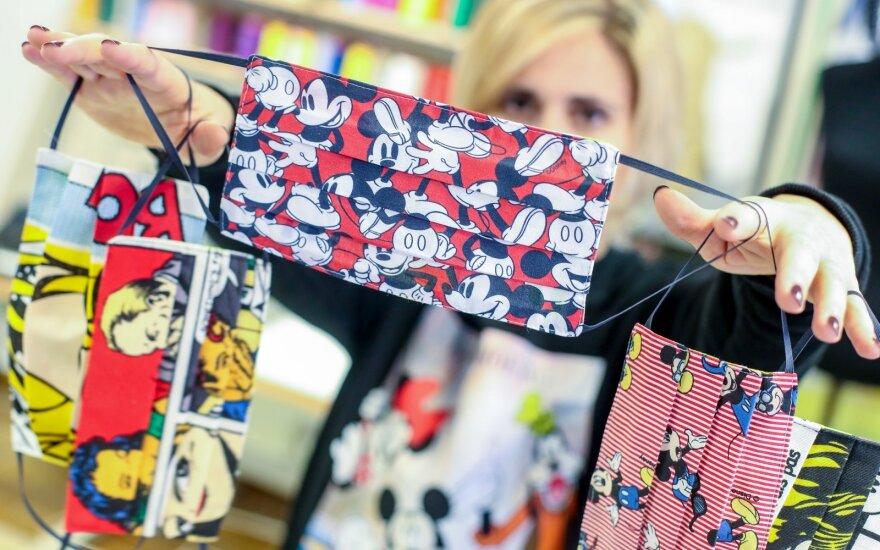 За границей обсуждают еще одну идею Вильнюса – неделю масочной моды