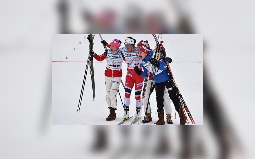Норвежки доминируют в эстафете, у Бьорген — третье золото ЧМ-2017