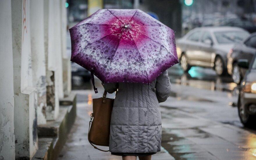 Начало недели будет дождливым и прохладным