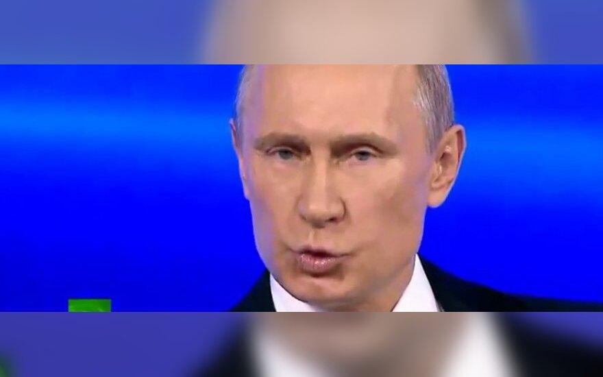 Gorąca linia z Władimirem Putinem