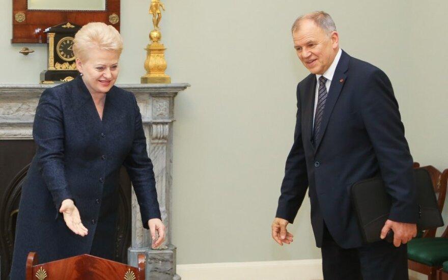Dalia Grybauskaitė, Vytenis Povilas Andriukaitis