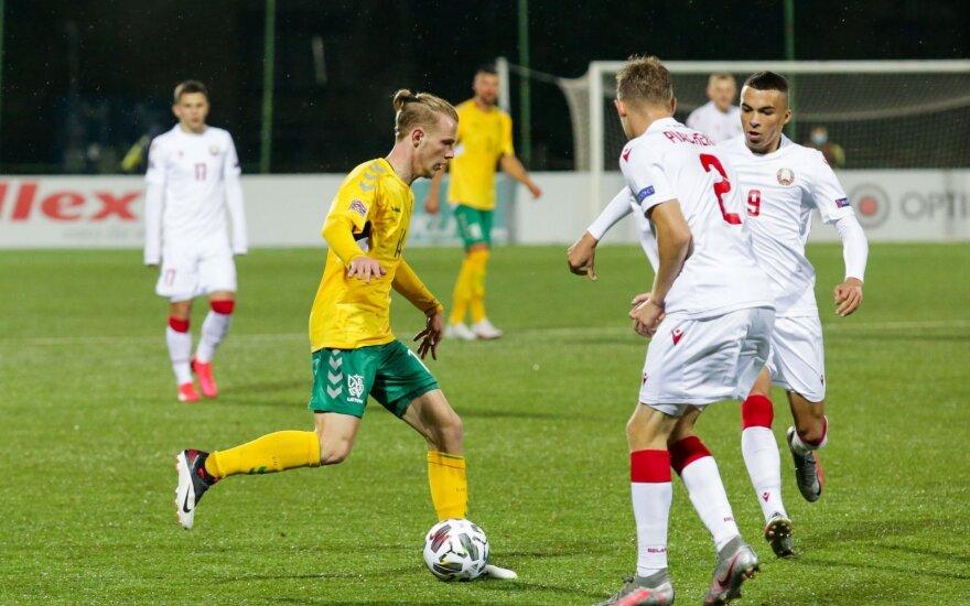 Молодежная сборная Литвы по футболу не поедет на контрольный матч с Беларусью в Минске